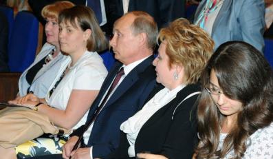 Władimir Putin z żoną Ludmiłą