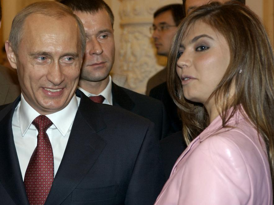 Władimir Putin i Alina Kabajewa
