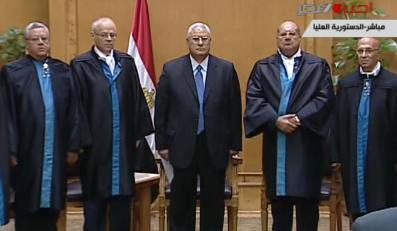Nowy prezydent Egiptu