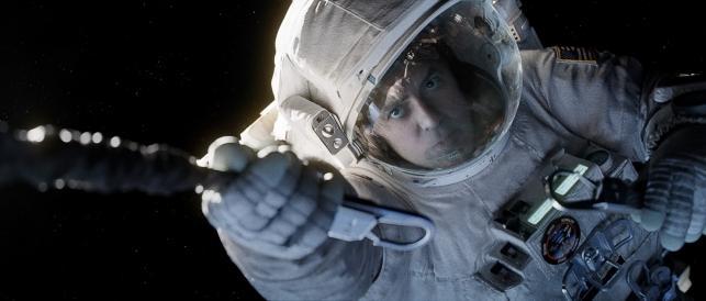 """George Clooney i w filmie """"Grawitacja"""""""