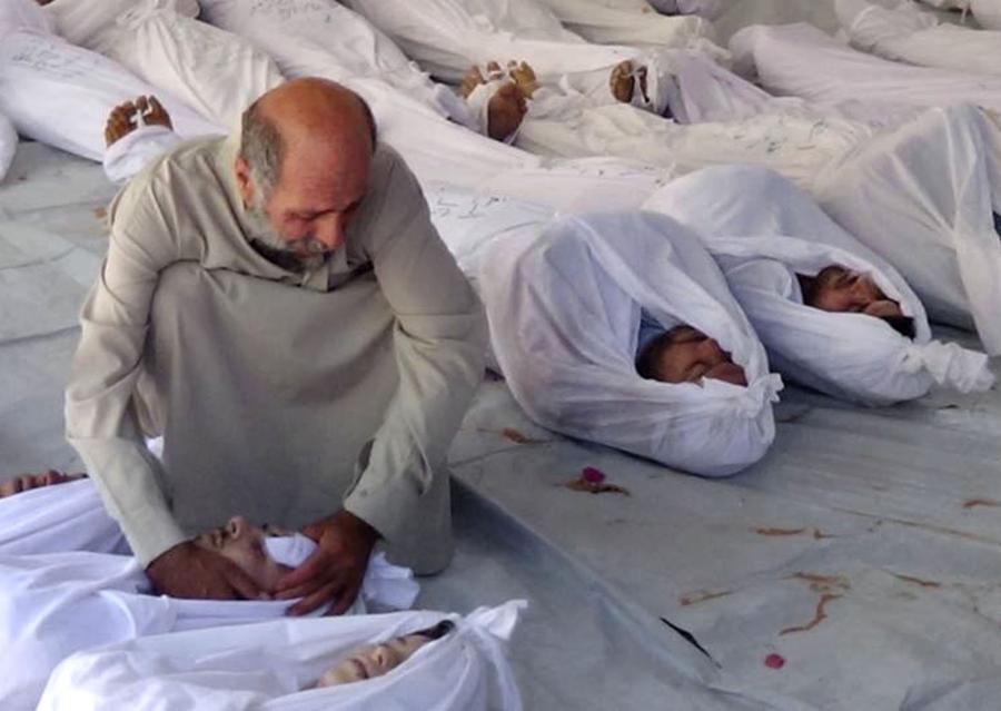 Ofiary ataku gazowego w Syrii?