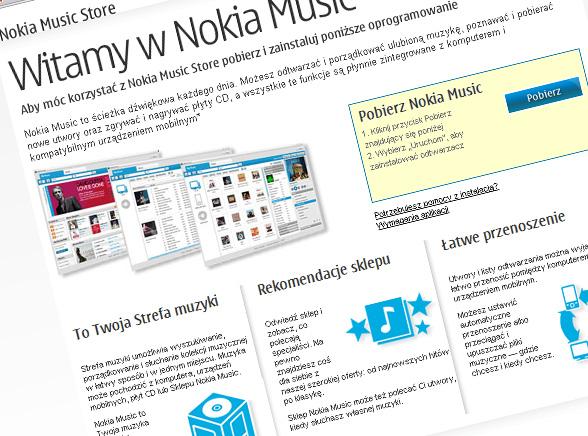 Nokia wkracza do Polski... z piosenkami