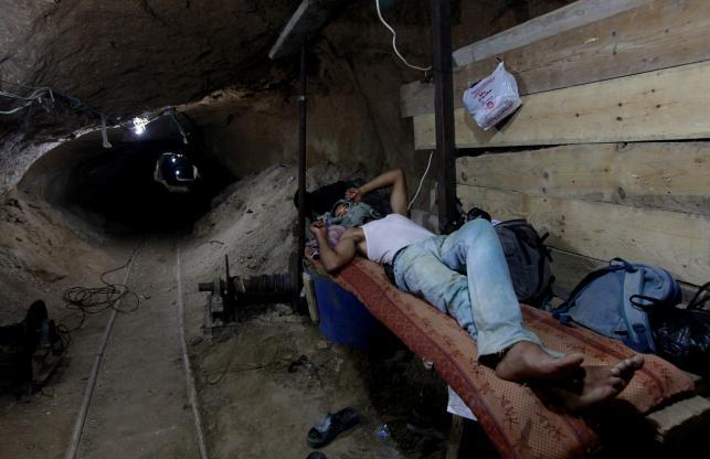 Strefa Gazy Picture: Wejdź Do Tuneli Przemytników. Tajne Korytarze W Strefie