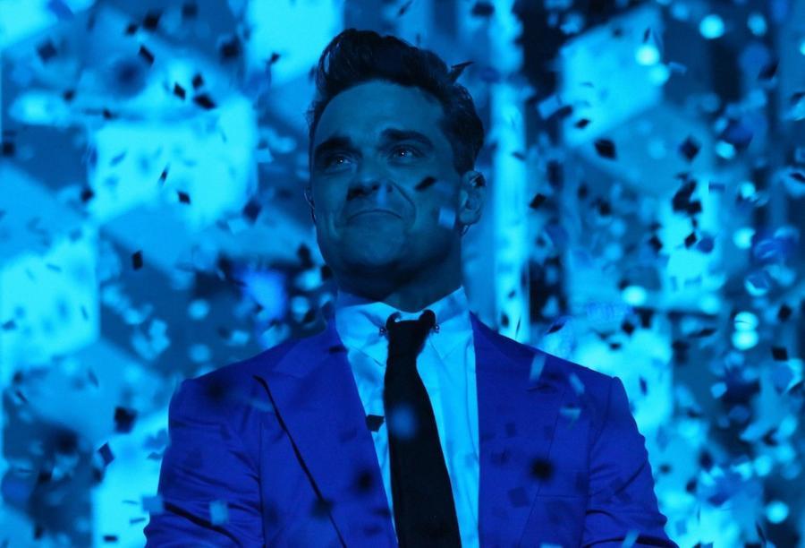 Delikatny Robbie Williams