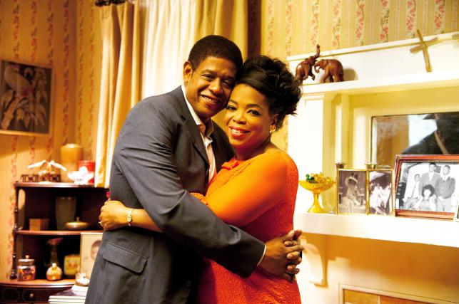 "Oprah Winfrey i Forest Whitaker w filmie ""Kamerdyner"""