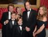 Książę William z Jonem Bon Jovi i jego rodziną
