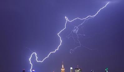 Groźne burze przewaliły się przez Polskę