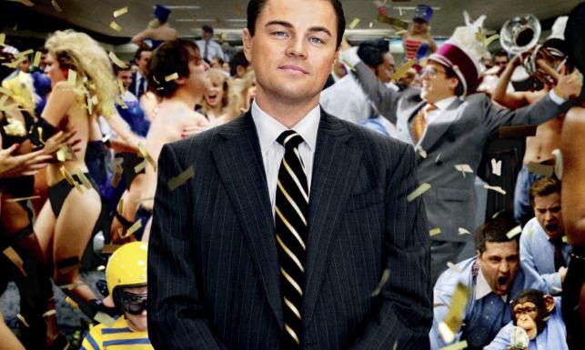 """Leonardo DiCaprio jako """"Wilk z Wall Street"""""""