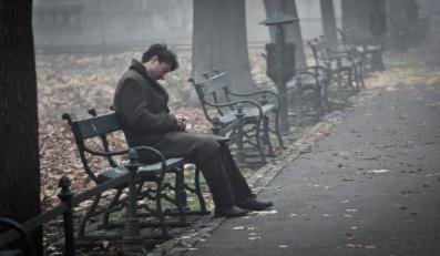 """Robert Więckiewicz w filmie """"Pod Mocnym Aniołem"""""""