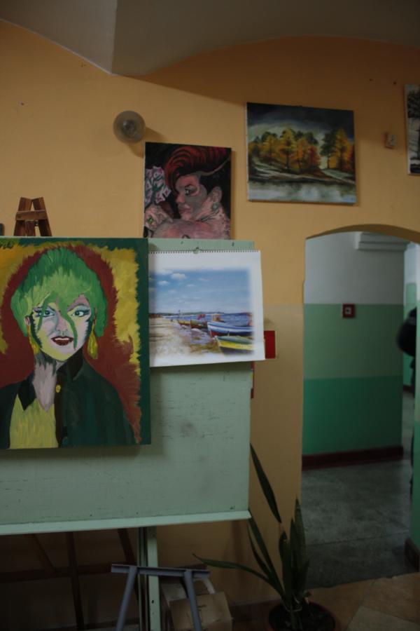 Sala terapeutyczna w Zakładzie Karnym nr 2 w Strzelcach Opolskich