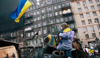 Majdan Euromajdan Ukraina Kijów