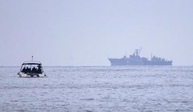 Niezidentyfikowane okręty wojskowe u wybrzeży Sewastopolu