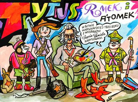 Nowy komiks o Tytusie na listach bestsellerów