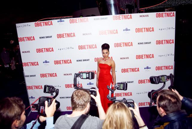 """Luxuria Astaroth – seksowna gwiazda teledysków Donatana na premierze """"Obietnicy"""""""