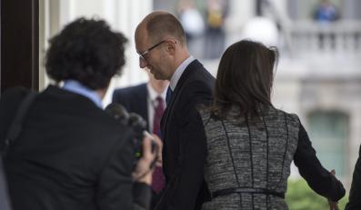 Arsenij Jaceniuk przybył na spotkanie z Barackiem Obamą