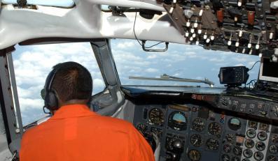 Poszukiwania zaginionego samolotu