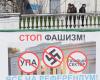Prorosyjski plakat wyborczy w Sewastopolu