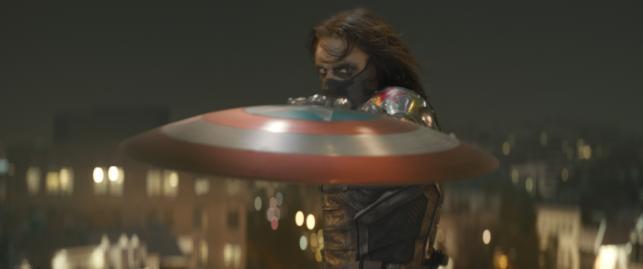 """Sebastian Stan w filmie """"Kapitan Ameryka: Zimowy żołnierz"""""""
