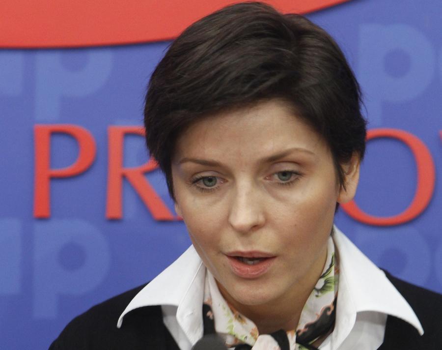 Była ministra sportu Joanna Mucha