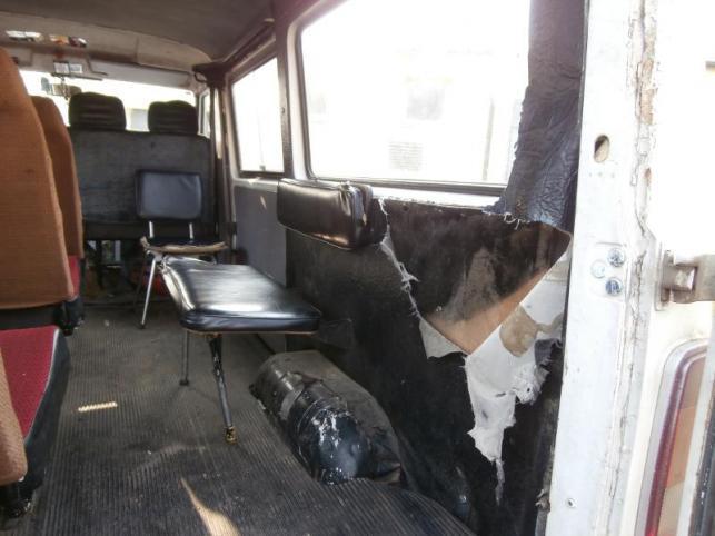 Takim pojazdem wożono dzieci do szkoły