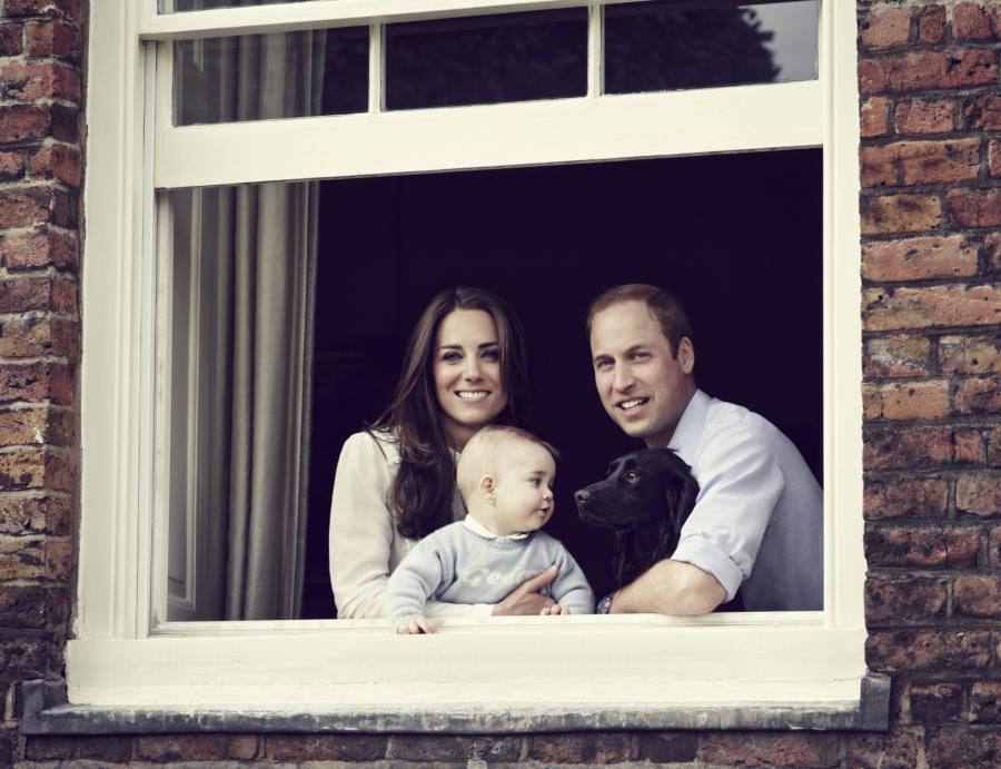 Nowe zdjęcie księcia Jerzego