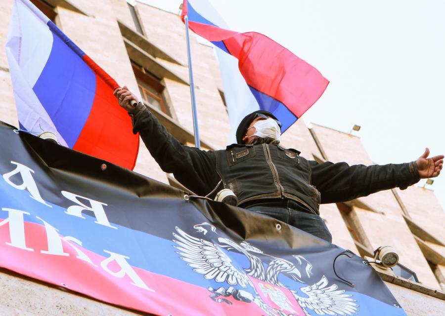 Ukraina zamieszki Donieck