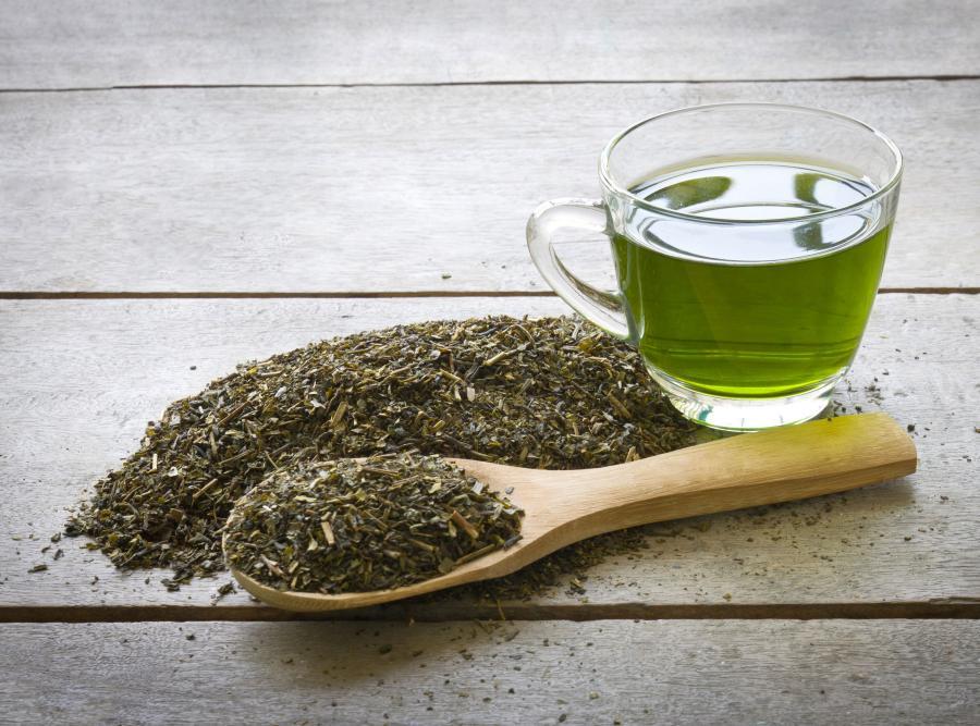 10. Zielona herbata