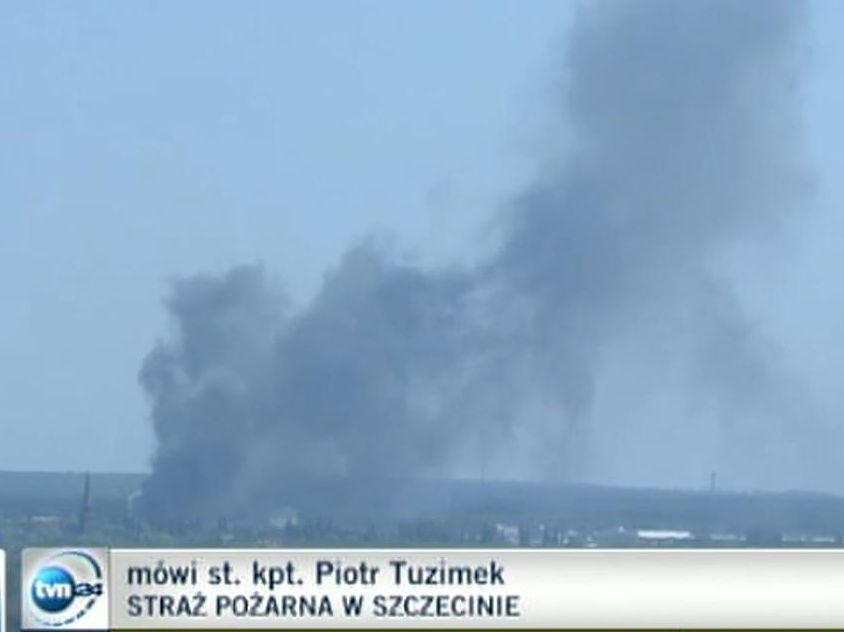 Dym nad Szczecinem