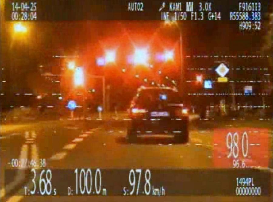 Łomża: nocny pościg za Litwinem w BMW