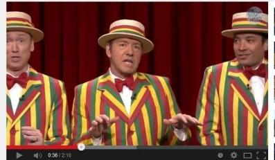 Kevin Spacey i Jimmy Fallon