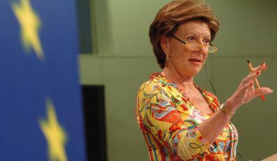 Komisarz Nelli Kroes pogrzebała polskie stocznie