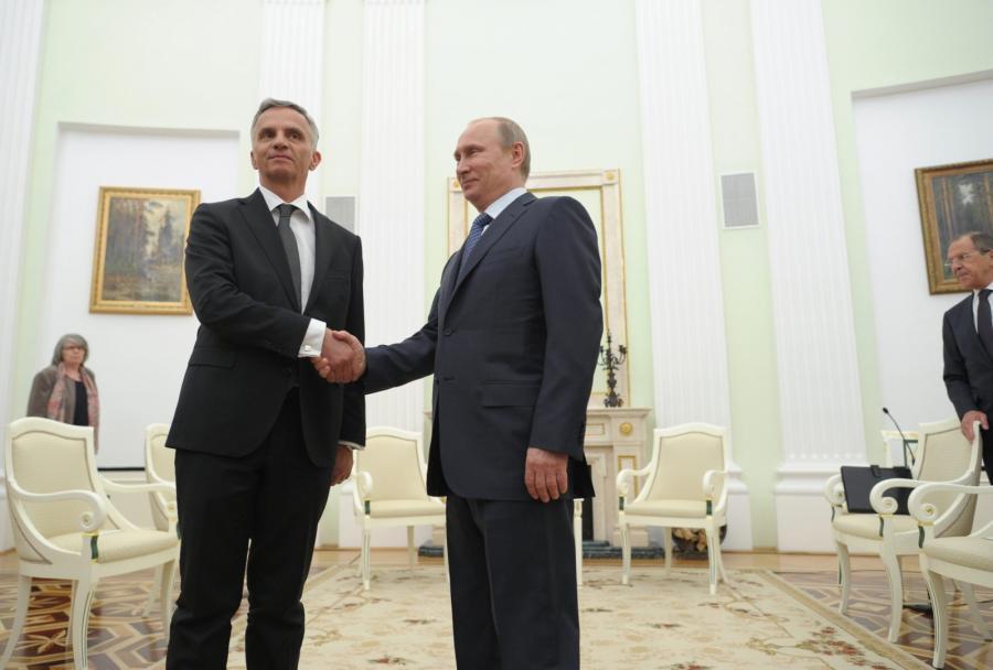 Szef OBWE i Władimir Putin