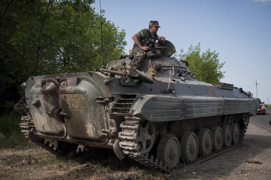 Ukraińskie wojsko pod Mariupolem