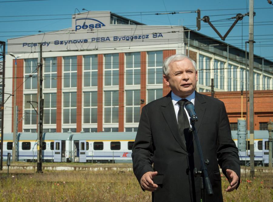Jarosław Kaczyński w Bydgoszczy