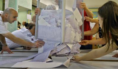 Liczenie głosów po wyborach prezydenckich n Ukrainie