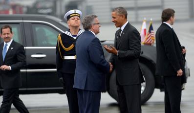 Bronisław Komorowski i Barack Obama