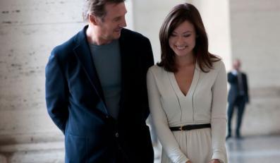 "Olivia Wilde i Liam Neeson w filmie ""Third Person"""