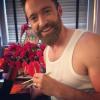 Hugh Jackman romantyczny na zdjęciu ze swojego profilu na Instagramie