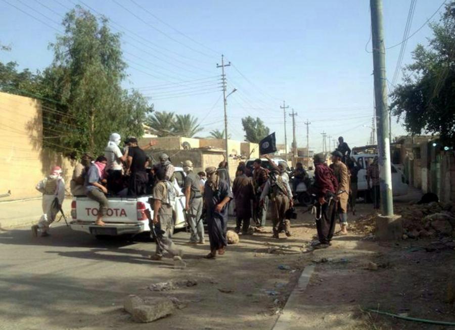 Islamiści w Tikricie