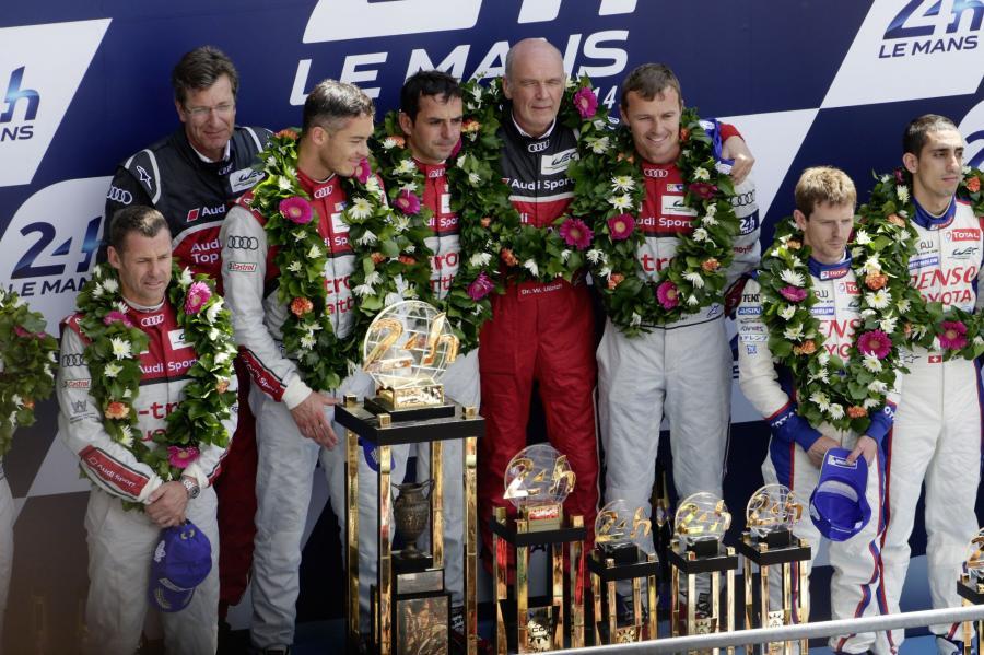 Dla Audi to ósma wygrana z napędem TDI i trzecie z wyścigową hybrydą