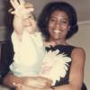 Lenny Kravitz z matką. Zdjęcie wykonał Sy Kravitz
