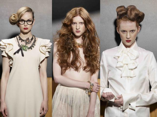 Fryzury retro na lato 2014 - propozycje stylistów Milek Design