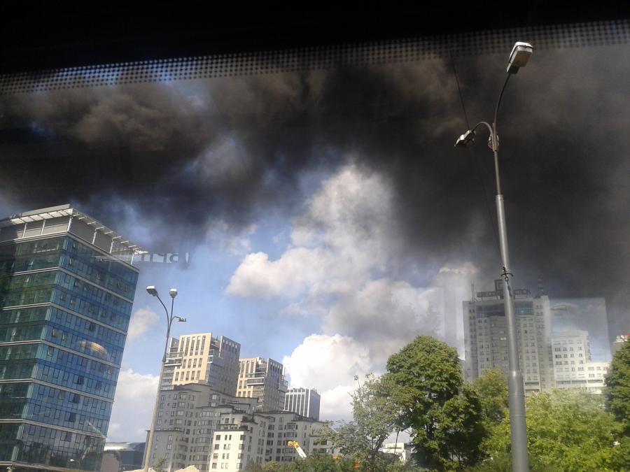 Pożar biurowca Warsaw Spire