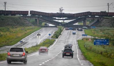 Most w pobliżu Doniecka wysadzony przez separatystów