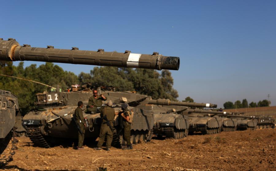Izraelskie Merkawy