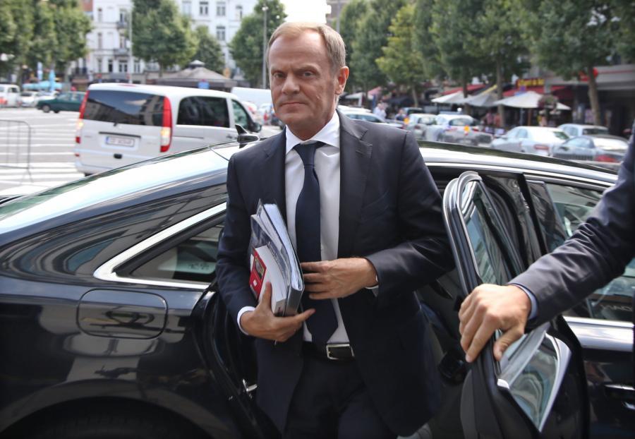 Premier Donald Tusk w Brukseli