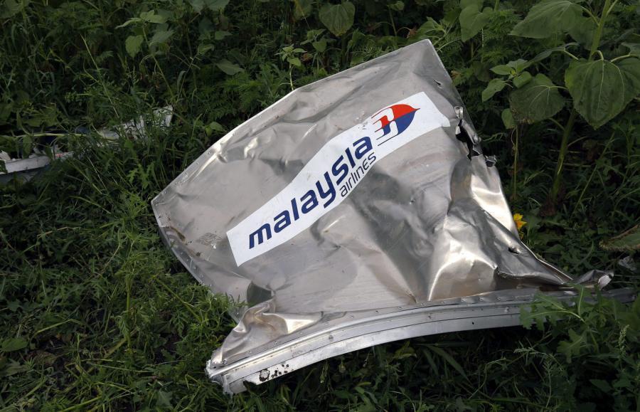 Miejsce katastrofy samolotu Malaysia Airlines MH17