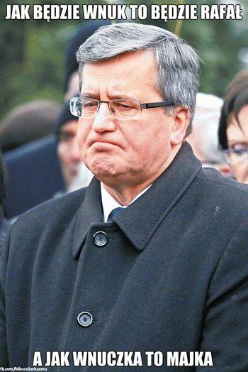 Mem z Bronisławem Komorowskim / Miszcz Sarkazmu