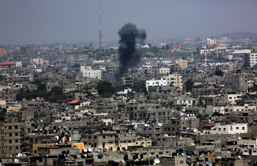 Ostrzał Strefy Gazy