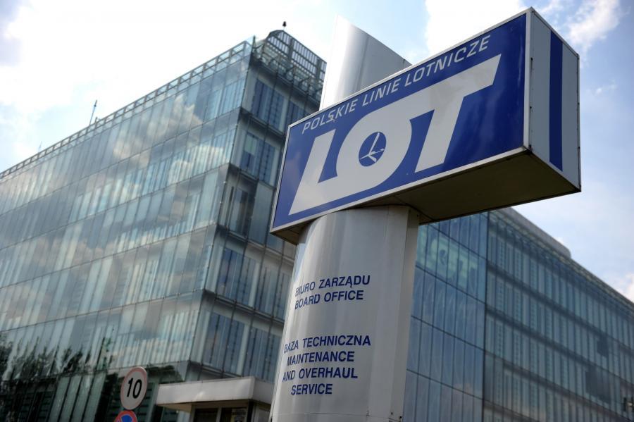 Siedziba zarządu PLL LOT w Warszawie